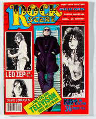 KISS Magazine - Rock Scene, September 1977