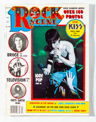 KISS Magazine - Rock Scene, July 1977, Iggy Pop