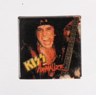 KISS Button - Animalize, Gene live, SQUARE