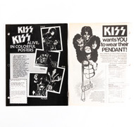 KISS Magazine ads - Motorcycle posters, Pendant, (set of 2)