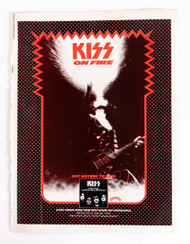 KISS Magazine ad - Nothin' to Lose ad, 1974