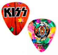 KISS Guitar Pick - KISS Kruise VII, Psycho Circus Theme Night.