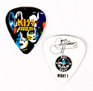 KISS Guitar Pick - KISS Kruise VII, Night 1, Gene.