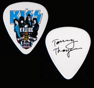 KISS Guitar Pick - KISS Kruise IV, Dressed to Kill, Tommy.