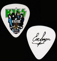 KISS Guitar Pick - KISS Kruise IV, Dressed to Kill, Eric.