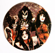 KISS Button - Group REVERSED, 3-inch JUMBO