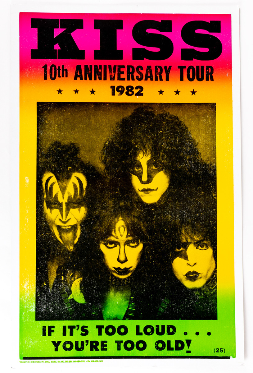 Kiss Poster 10th Anniversary Creatures Tour