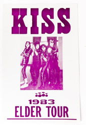 KISS Poster - Elder Tour, (reproduction)