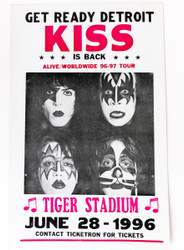 KISS Poster - Tiger Stadium, (reproduction)