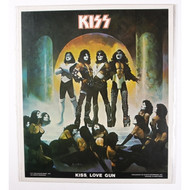 KISS Sticker - Poster Put-Ons, Love Gun (open).