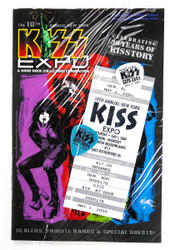 New York KISS Expo Packet - Picks, Ticket, booklet, (sealed), 18th annual, 2004