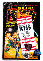 New York KISS Expo Packet - Picks, Ticket, booklet, (sealed), 21st annual