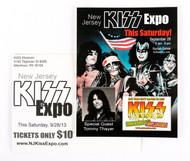 KISS Postcard - New Jersey KISS Expo 2013