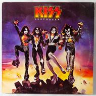 """KISS Vinyl Record - KISS Destroyer 12"""" LP, (7/10)"""