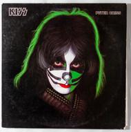 KISS Vinyl Record LP - Solo Album w/Poster, Peter