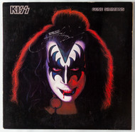 KISS Vinyl Record - Gene Simmons Solo 1978, signed by Gene