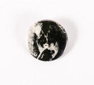 KISS Button - Gene holding guitar pick