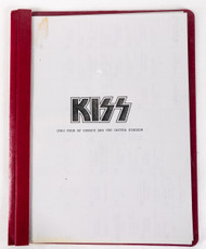 KISS Tour Itinerary - Creatures of the Night, (reproduction)