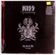 KISS Vinyl Record - KISS Symphony, (sealed, #1720)