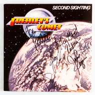 Ace Autograph - Frehley's Comet, Signed by entire band, SECOND SIGHTING
