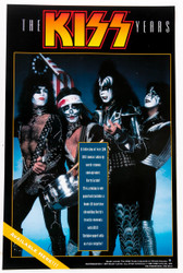 KISS Poster - The KISS Years Store Promo Mini-Poster