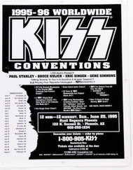 KISS Poster - Official KISS Conventions, Mini-Poster