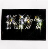 KISS Magnet - Jeweled Logo