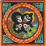 KISS Patch - Rock and Roll Over.