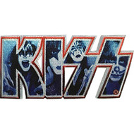 KISS Patch - Faces in Logo
