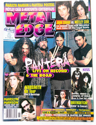 KISS Magazine - Metal Edge November 1997, Pantera, Gene and Paul