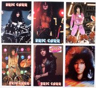 Eric Carr Trading Cards - Promo, set of 6.