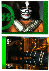 KISS Trading Cards - Cornerstone Series 1 Foil Chase card, F12 COLOR