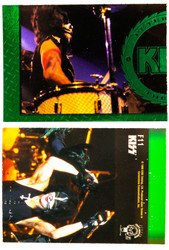 KISS Trading Cards - Cornerstone Series 1 Foil Chase card, F11 COLOR