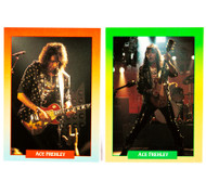 Ace Frehley Trading Cards - Super Stars Music Cards, (set of 2), ACE