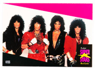KISS Trading Cards - Super Stars Music Card 196, (alternate second printing)