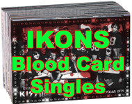 KISS Trading Cards - Ikons Blood Card SINGLES