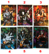 KISS Trading Cards - Legend 2010 Pop-Ups, SINGLES