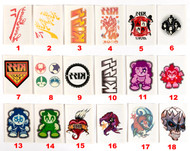 KISS Ikons Trading Cards - Ikons Temporary Tattoos, SINGLES