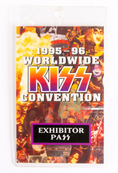 KISS Laminate Pass - Worldwide KISS Convention, Exhibitor