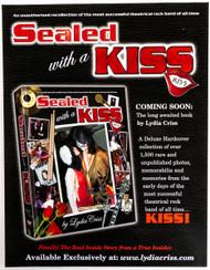 KISS Flier - Lydia Criss SWAK flier book ad