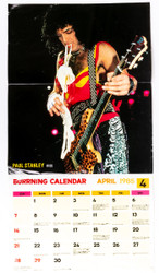 KISS Fold-Out - Paul Stanley Calendar 1985, (6/10)