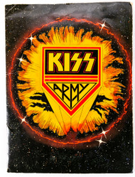 KISS Army Fan Club Kit - Solo Albums era, 1978, (24 pieces)