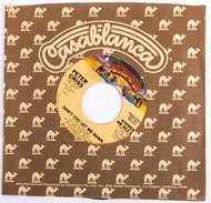 KISS 45 RPM Vinyl - Don't You Let me down/Stereo A/Mono B, (Casablanca Sleeve)