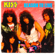 KISS 45 RPM Vinyl - Reason To Live, picture sleeve, (7/10).