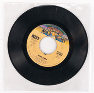 KISS 45 RPM Vinyl - I Was Made FLY/Hard Times, (no sleeve)