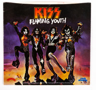 KISS 45 RPM Vinyl - Flaming Youth, (picture sleeve)