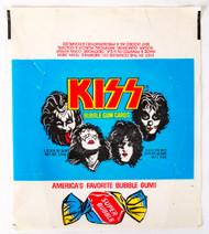 KISS Trading Cards - KISS Donruss Wax-Pack Wrapper.