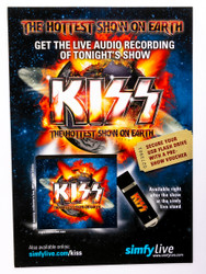 KISS Flier - Hottest Show on Earth audio ad
