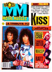 KISS Magazine - Metal Muscle 1986.