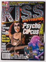 KISS Magazine - KISS and Friends '97 - four double sided posters.